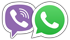 Телефон Viber Whatsapp
